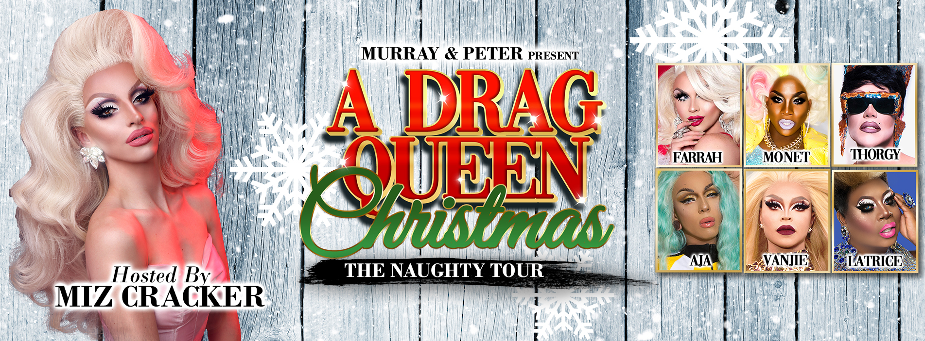 A Drag Queen Christmas | The Naughty Tour